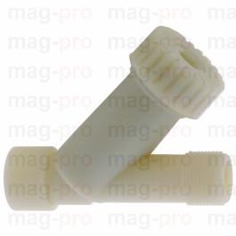 "Filtru Y din plastic 3/4""-3/4"", pentru alimentare, cu sita oblica - LS 504586"