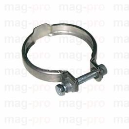 Colier cu surub pentru fixare pompa pe motor, din inox - LS 520126