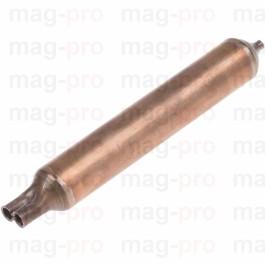 Filtru deshidratator 35G, ø 24 mm, L 170 mm, cu 2 intrari pentru teava 6,5 mm, iesire capilar ø 2,4 mm - LS 750313