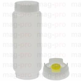 sticlă cu membrană centrală ø 62mm Î 175mm 354ml