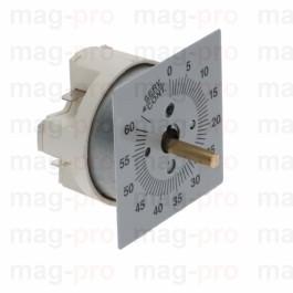 Timer mecanic 60 minute, ax 6x4,6 mm, 250V, 16 A, cu pozitie de lucru permanenta - 3446007